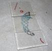 Knypplad fisk på glas_30